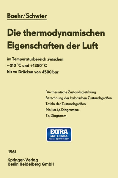 Die thermodynamischen Eigenschaften der Luft - Coverbild