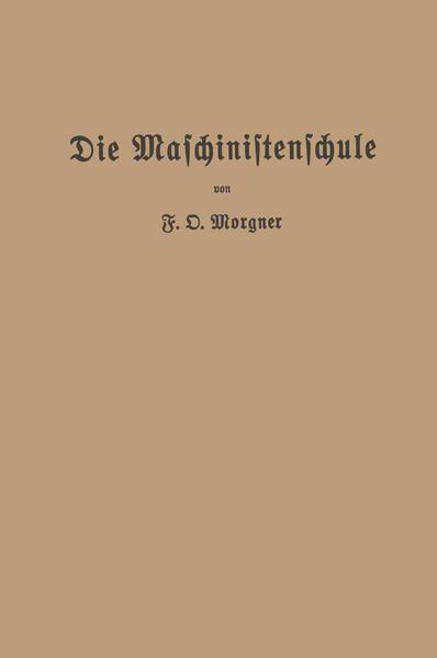 Die Maschinistenschule - Coverbild