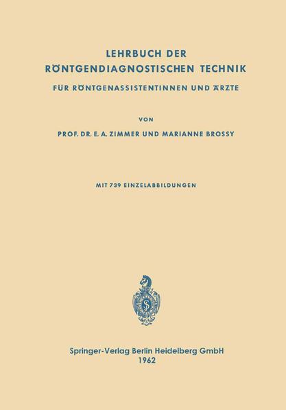 Lehrbuch der Röntgendiagnostischen Technik - Coverbild