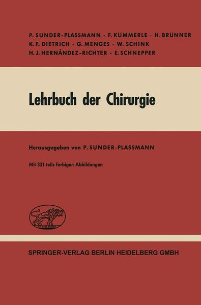 Lehrbuch der Chirurgie - Coverbild