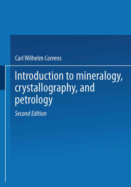 Introduction to Mineralogy - Coverbild