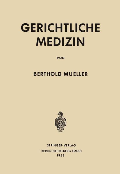 Gerichtliche Medizin - Coverbild
