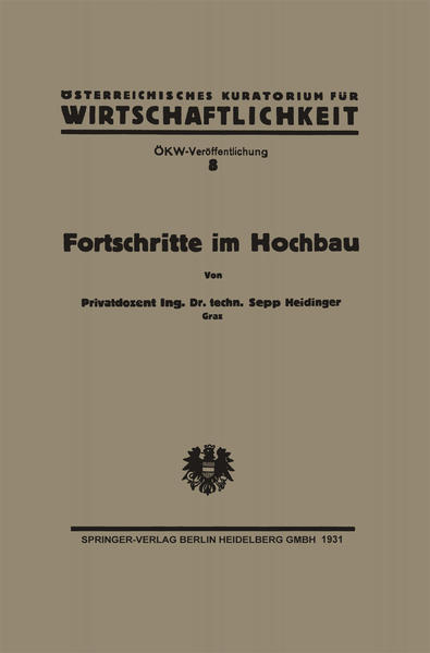 Fortschritte im Hochbau und deren Anwendbarkeit im österreichischen Bauwesen - Coverbild