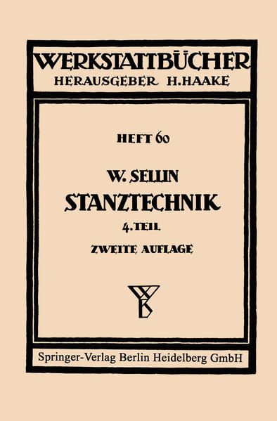 Stanztechnik - Coverbild