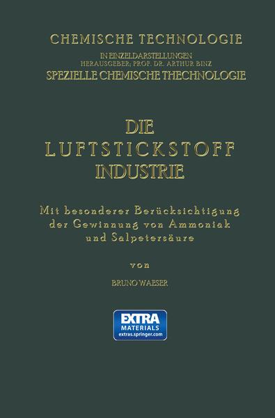 Die Luftstickstoff-Industrie - Coverbild