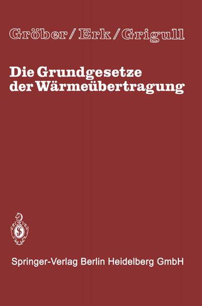 Die Grundgesetze der Wärmeübertragung - Coverbild