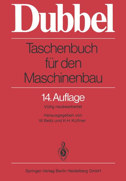 Taschenbuch für den Maschinenbau - Coverbild