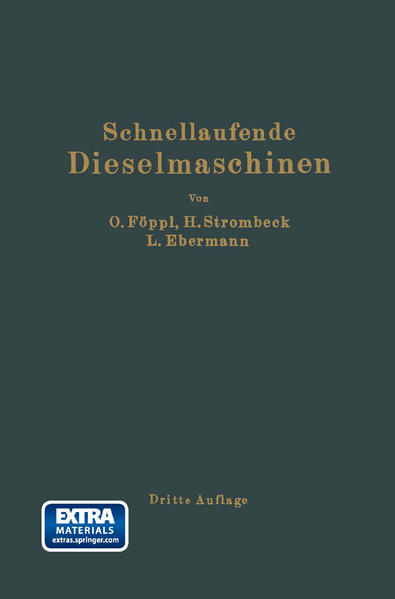 Schnellaufende Dieselmaschinen - Coverbild