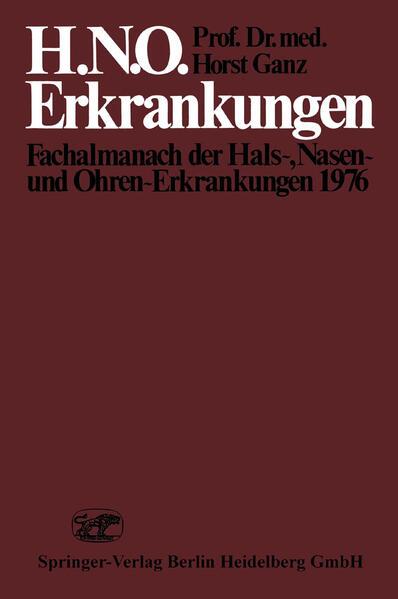 H.N.O. Erkrankungen - Coverbild