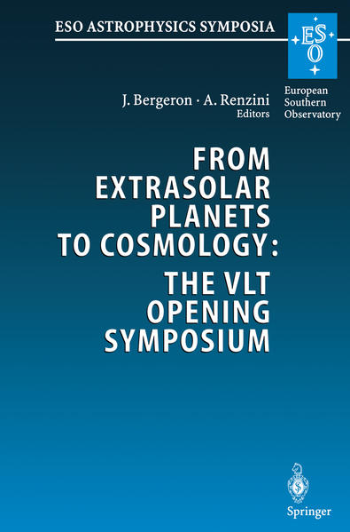 From Extrasolar Planets to Cosmology: The VLT Opening Symposium - Coverbild