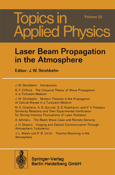 Laser Beam Propagation in the Atmosphere - Coverbild