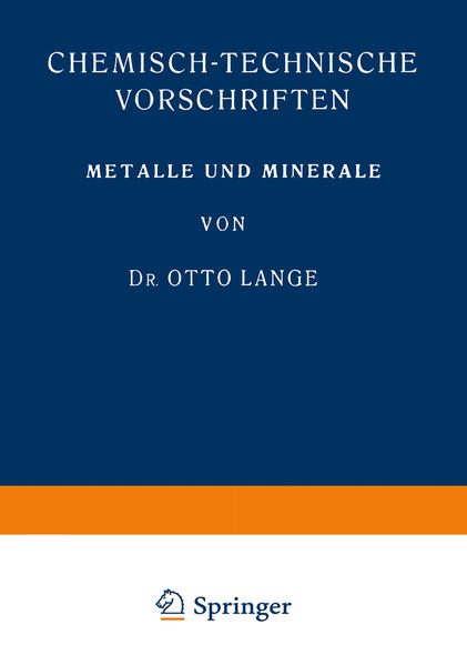 Metalle und Minerale - Coverbild