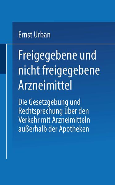 Freigegebene und nicht freigegebene Arzneimittel - Coverbild