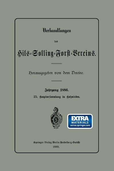 Verhandlungen des Hils-Solling-Forst-Vereins - Coverbild
