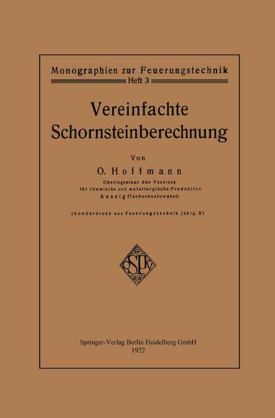 Vereinfachte Schornsteinberechnung - Coverbild