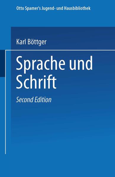 Sprache und Schrift - Coverbild