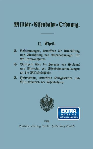 Militär-Eisenbahn-Ordnung - Coverbild