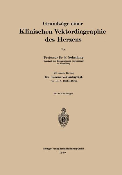 Grundzüge einer Klinischen Vektordiagraphie des Herzens - Coverbild