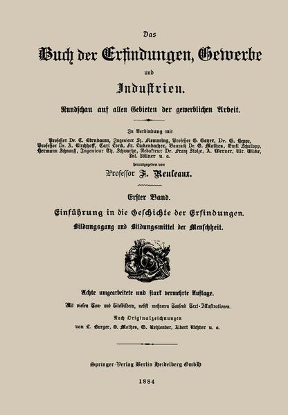 Einführung in die Geschichte der Erfindungen - Coverbild