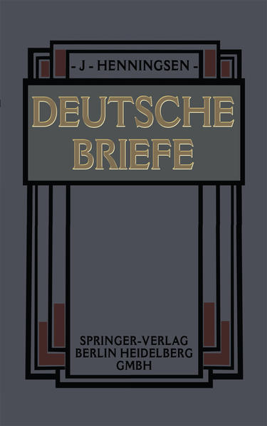 Deutsche Briefe - Coverbild