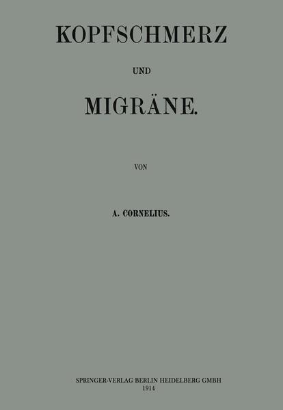 Kopfschmerz und Migräne - Coverbild