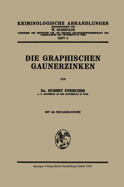 Die Graphischen Gaunerzinken - Coverbild
