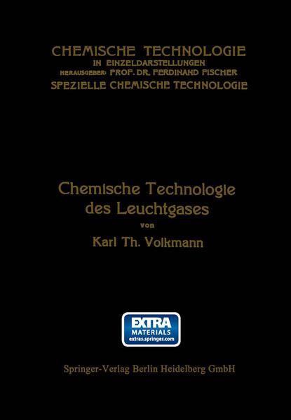 Chemische Technologie des Leuchtgases - Coverbild