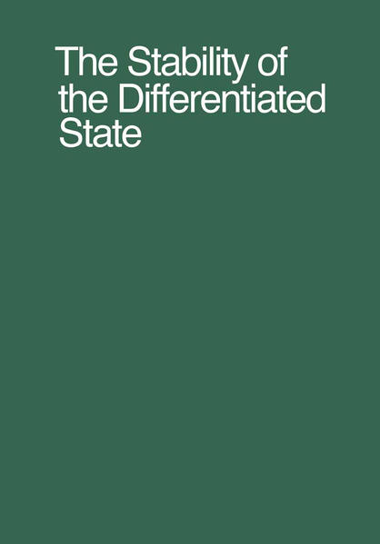 The Stability of the Differentiated State - Coverbild