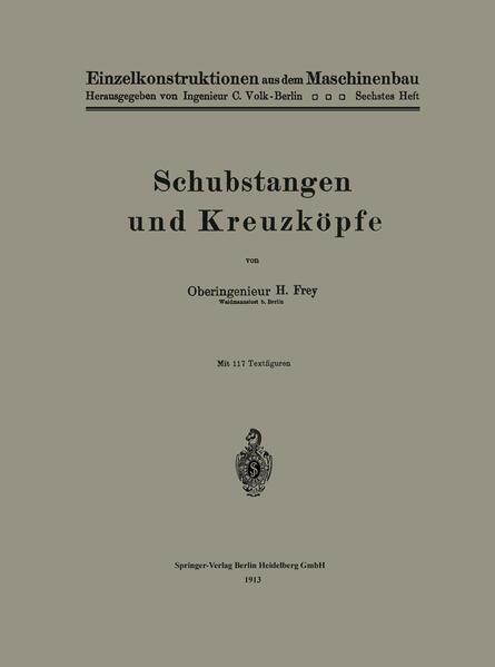 Schubstangen und Kreuzköpfe - Coverbild