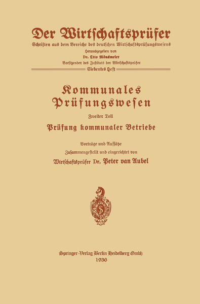 Kommunales Prüfungswesen - Coverbild