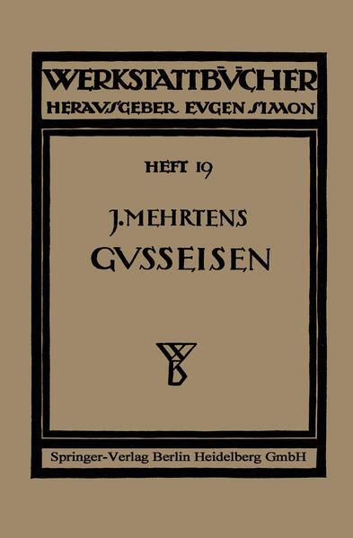 Das Gußeisen - Coverbild