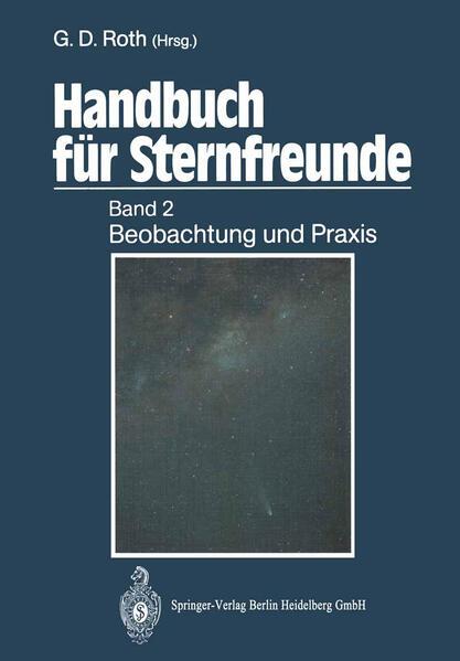 Handbuch für Sternfreunde - Coverbild