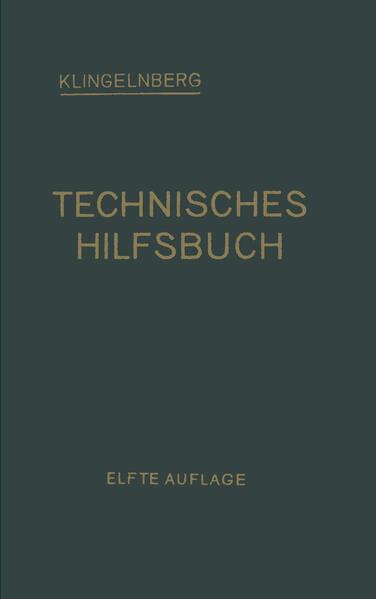 Klingelnberg Technisches Hilfsbuch - Coverbild