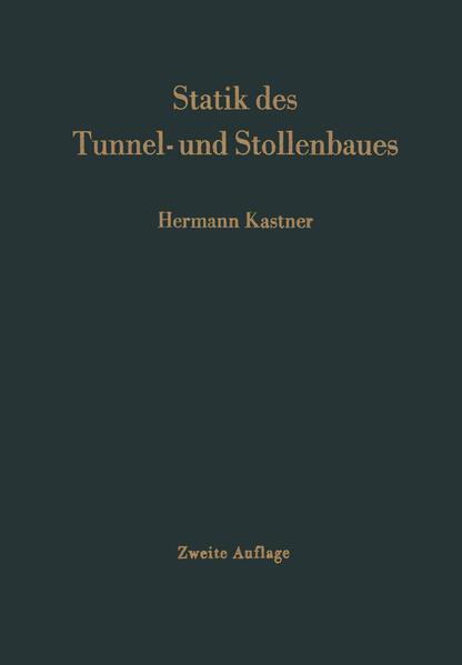 Statik des Tunnel- und Stollenbaues - Coverbild