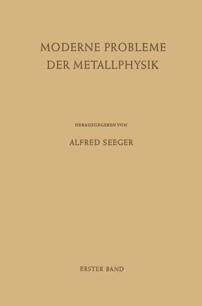 Fehlstellen, Plastizität, Strahlenschädigung und Elektronentheorie - Coverbild