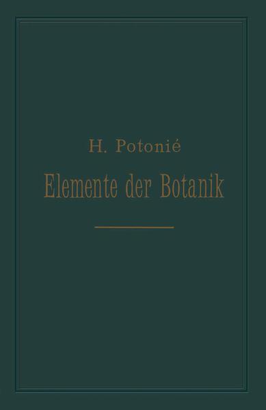 Elemente der Botanik - Coverbild