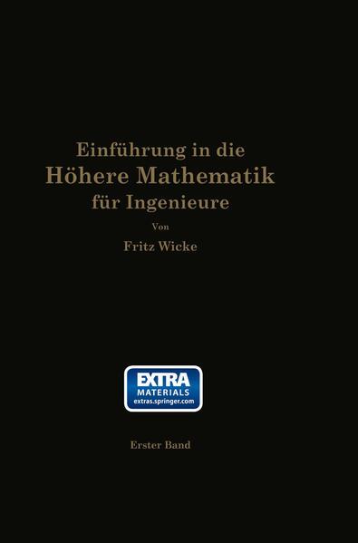Einführung in die höhere Mathematik - Coverbild