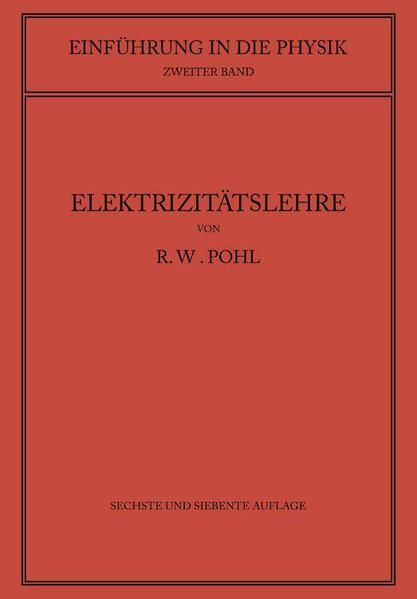 Einführung in die Elektrizitätslehre - Coverbild