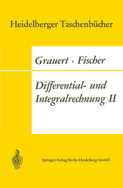 Differential- und Integralrechnung II - Coverbild