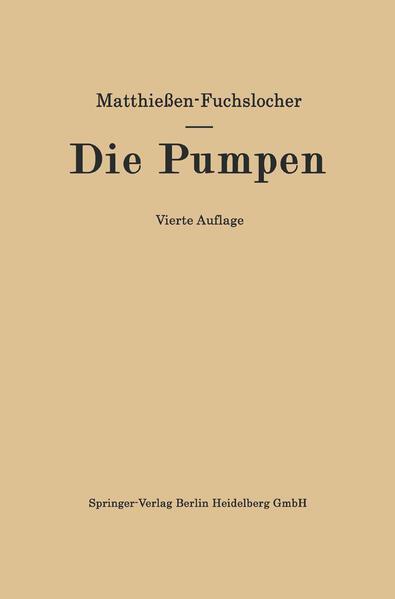 Die Pumpen - Coverbild