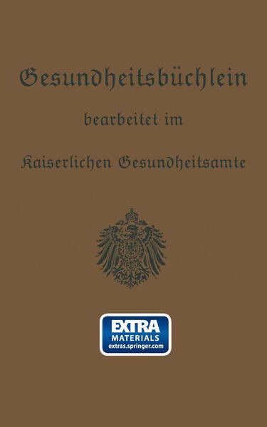 Gesundheitsbüchlein - Coverbild