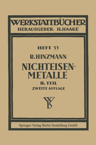 Nichteisenmetalle - Coverbild