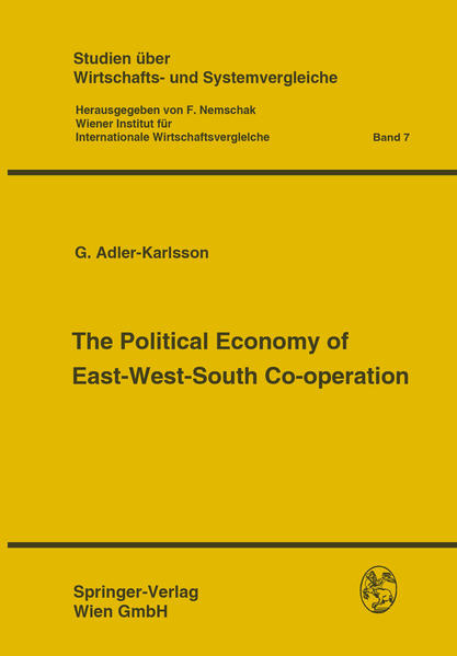 The Political Economy of East-West-South Co-operation - Coverbild