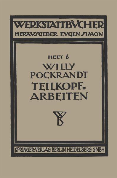 Teilkopfarbeiten - Coverbild