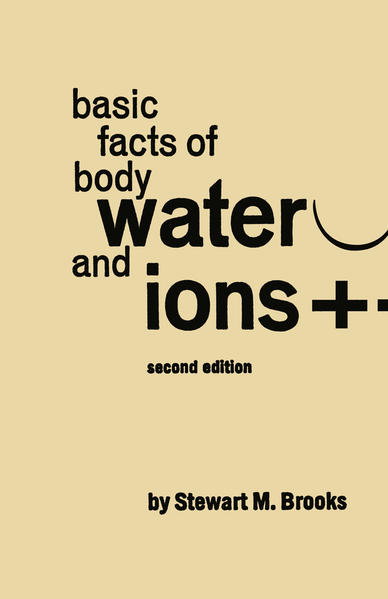 Basic Facts of Body Water and Ions - Coverbild