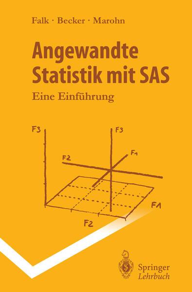 Angewandte Statistik mit SAS - Coverbild