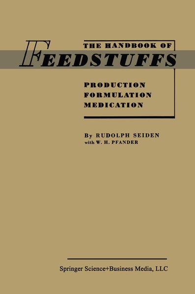The Handbook of Feedstuffs - Coverbild