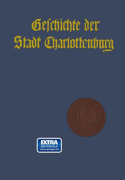 Geschichte der Stadt Charlottenburg - Coverbild