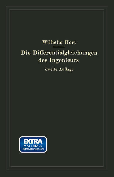 Die Differentialgleichungen des Ingenieurs - Coverbild