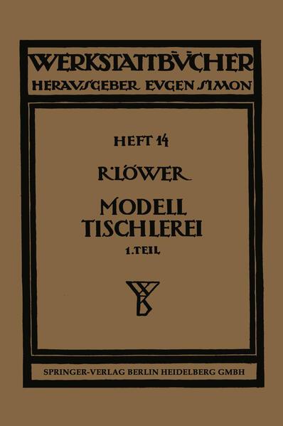 Modelltischlerei - Coverbild